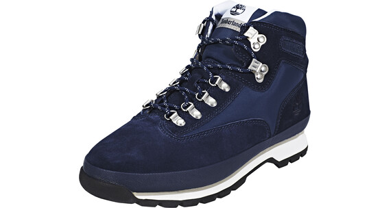 Timberland Euro Hiker Shoes Men Fabric/Leather Navy